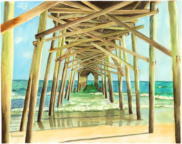 Coastal Cathedral  Art Print
