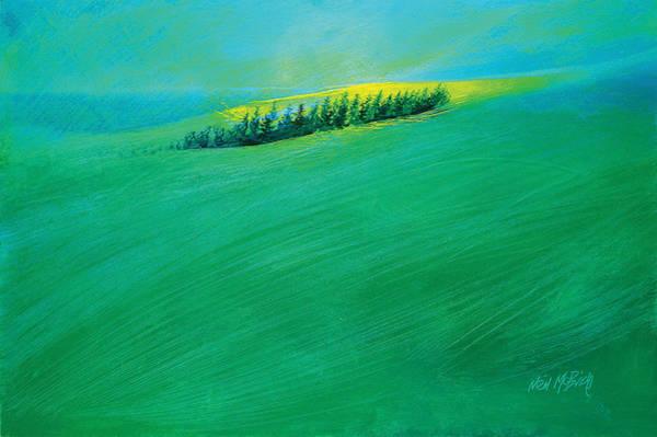 Bridlington Painting - Coastal Copse by Neil McBride