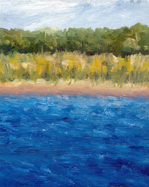 Painting - Coastal Dunes 2.0 by Michelle Calkins