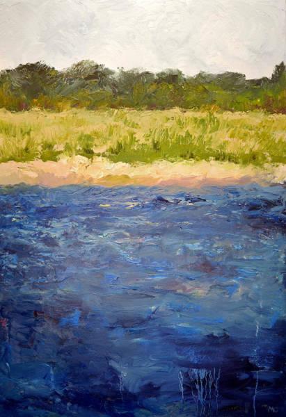 Painting - Coastal Dunes by Michelle Calkins