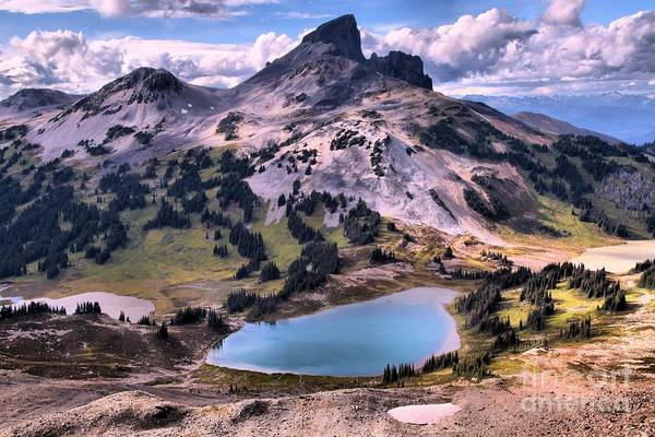 Photograph - Coastal Mountain Peaks And Lakes by Adam Jewell