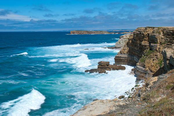 Photograph - Coastal Portugal Landscape by Cascade Colors