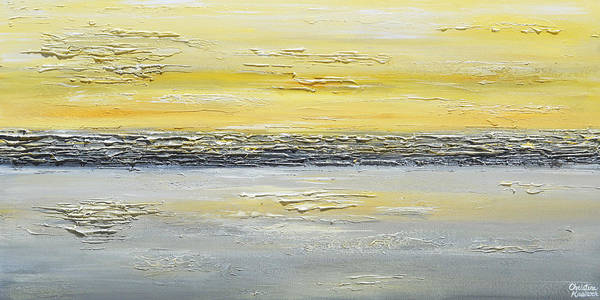 Wall Art - Painting - Coastal Reflections by Christine Bell