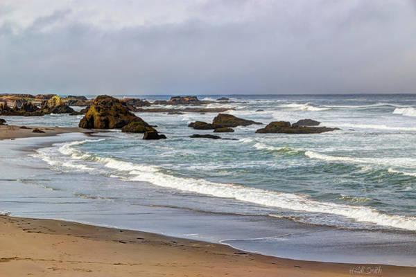 Wall Art - Photograph - Coastal Serenity  by Heidi Smith