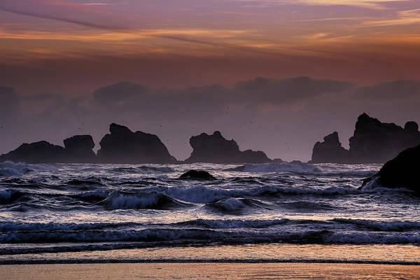 Wall Art - Photograph - Coastal Sunset by Andrew Soundarajan