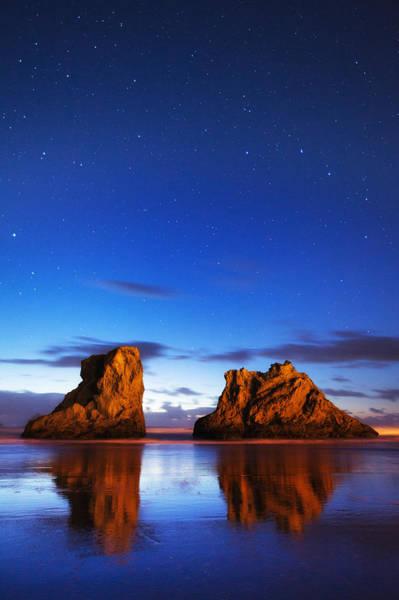 Photograph - Coastal Twilight by Darren  White