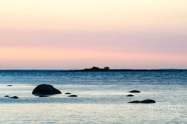 Rights Managed Images Wall Art - Photograph - Coastal Twilight View by Kennerth and Birgitta Kullman