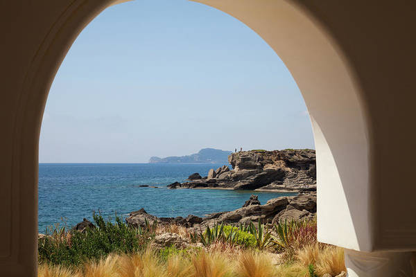 Dodecanese Photograph - Coastal View From Kalithea Spa by Christer Fredriksson