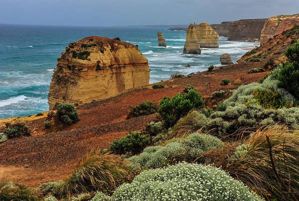 Photograph - Coastal Vista by Harry Spitz