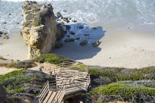 Photograph - Coastline At Malibu California 6 by Barbara Snyder