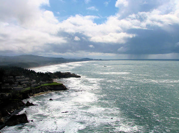 Photograph - Coastline At Salishan by Lora Fisher