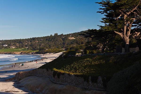 Carmel By The Sea Photograph - Coastline, Carmel Beach by Panoramic Images