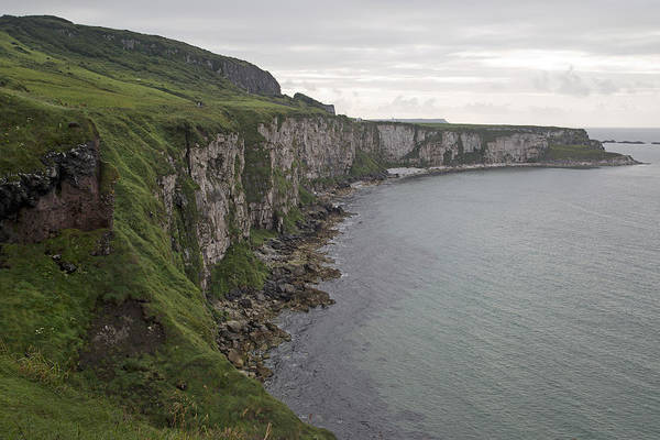 Wall Art - Photograph - Coastline Carrick-a-rede Northern Ireland by Betsy Knapp
