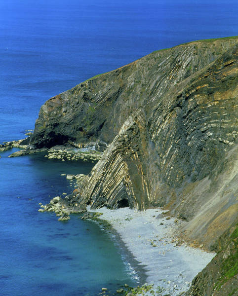 Geomorphology Wall Art - Photograph - Coastline by Martin Bond/science Photo Library