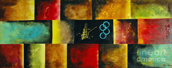 Kag Wall Art - Painting - Coat Of Many Colors by Gina Cooper
