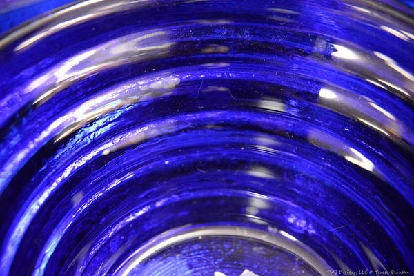 Photograph - Cobalt Blue by Teresa Blanton