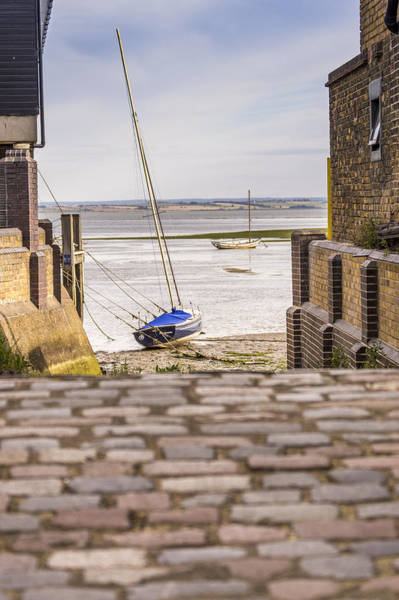 Leigh On Sea Photograph - Cobble Coble by Carolyn Lewis