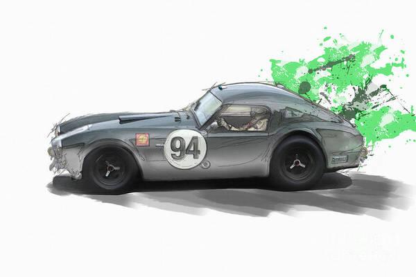 Ac Cobra Wall Art - Digital Art - Cobra by Roger Lighterness
