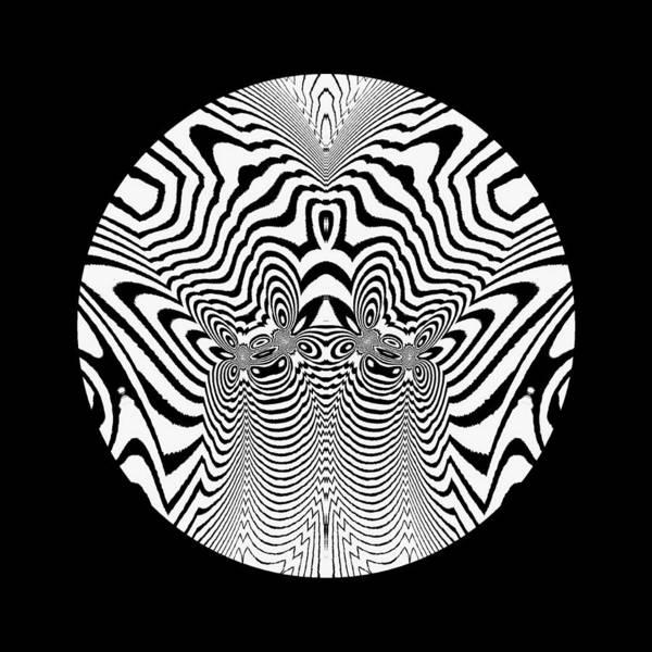 Digital Art - Cobras Mascot Logo by Visual Artist Frank Bonilla
