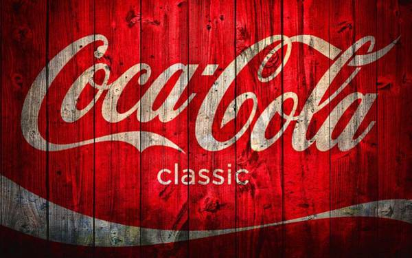 Coca Cola Barn Art Print