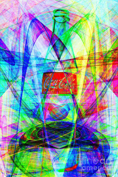 Photograph - Coca Cola Bottle 20130621di by Wingsdomain Art and Photography