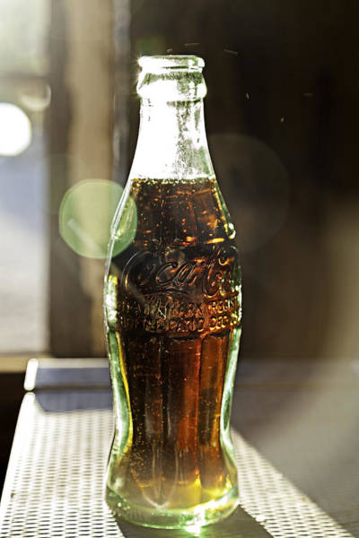 Photograph - Coca-cola In The Light Of Day by James Sage