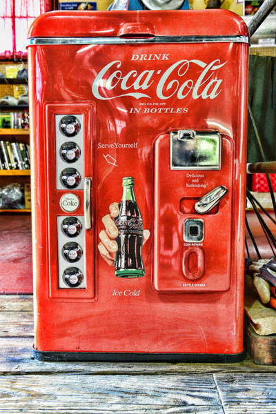 Wall Art - Photograph - Coca-cola Retro Style by Paul Ward