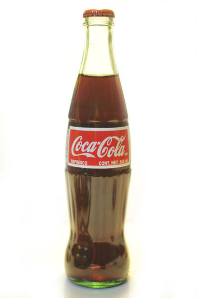 Photograph - Coca Cola White by Terry DeLuco