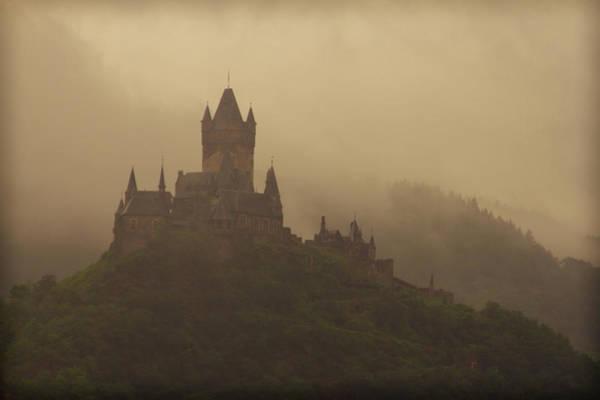 Photograph - Cochem Castle In Mist by Jenny Setchell