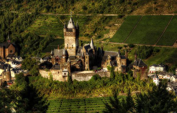 Photograph - Cochem Castle by Ryan Wyckoff