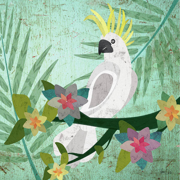Wall Art - Painting - Cockatoo by Shanni Welsh