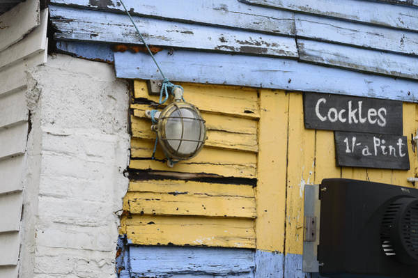 Leigh On Sea Photograph - Cockle Shed by Carolyn Lewis