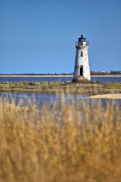 Photograph - Cockspur Lighthouse In The Sanannah River by Gordon Elwell