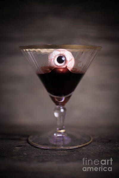Photograph - Cocktail For Dracula by Edward Fielding