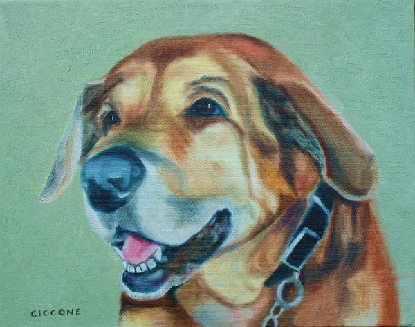 Painting - Happy Hound by Jill Ciccone Pike