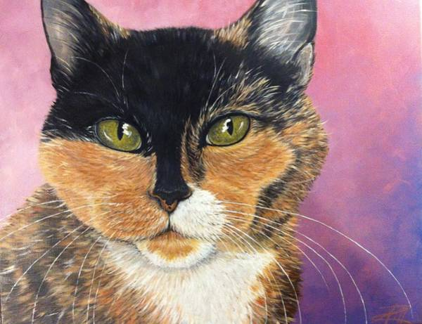 Painting - Coco Lewellin by Ana Marusich-Zanor