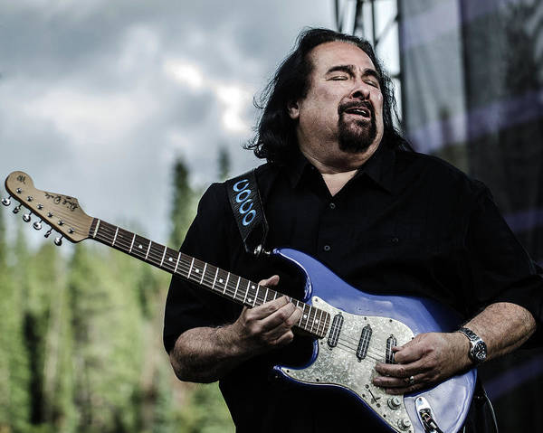 Copper Mountain Photograph - Coco Montoya Live by Larry Hulst