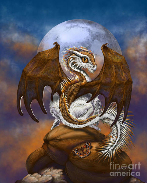 Coconut Dragon Art Print