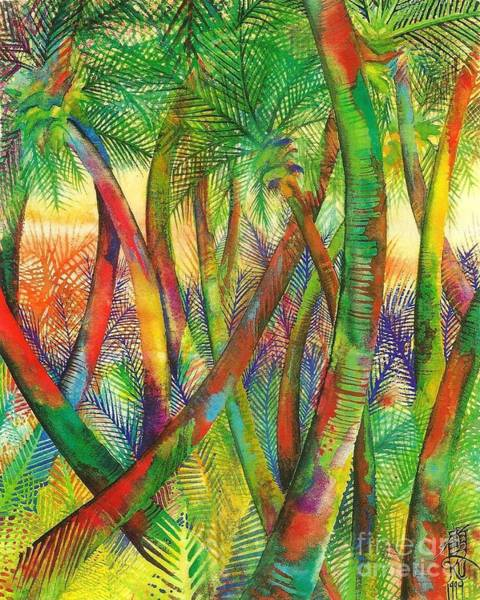Painting - Coconut Grove by Frances Ku