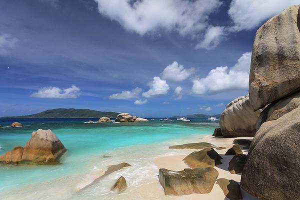 Collin Photograph - Cocos Island Beach And Boulders In by © Frédéric Collin