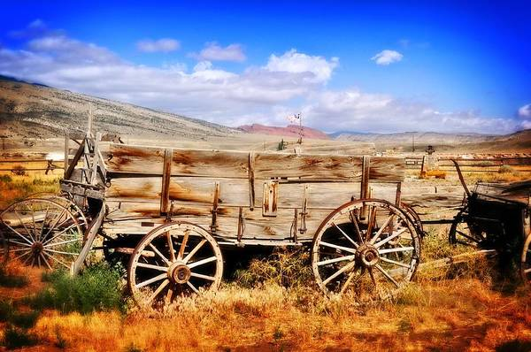 Photograph - Cody Wagon 3 by Marty Koch