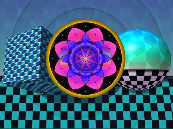 Digital Art - Coexist by Vincent Autenrieb