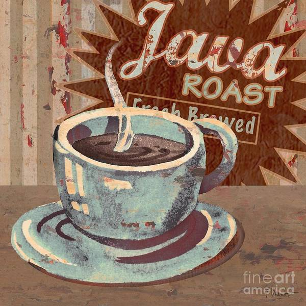 Java Painting - Cofee Brew Sign IIi by Paul Brent