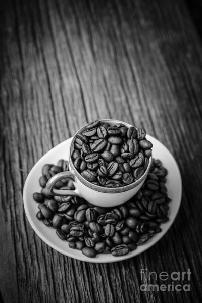 Photograph - Coffee Beans by Edward Fielding