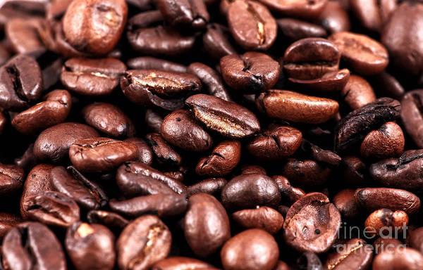 Photograph - Coffee Beans by John Rizzuto