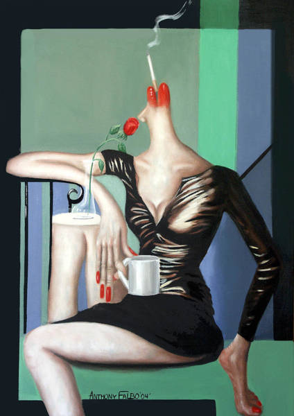 Painting - Coffee Break by Anthony Falbo