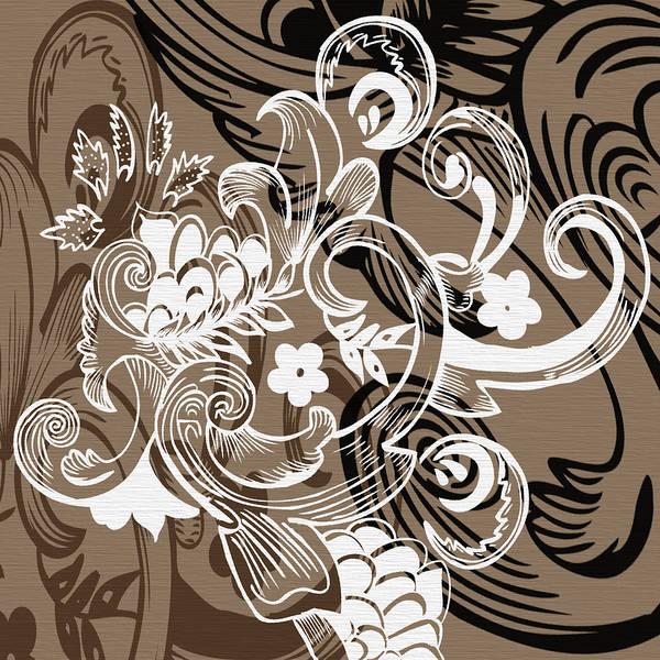 Digital Art - Coffee Flowers 8  by Angelina Tamez
