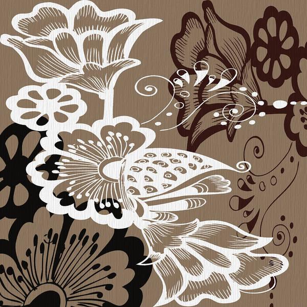 Digital Art - Coffee Flowers 9 by Angelina Tamez