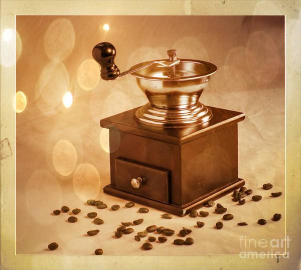 Coffee Grinder 2 Art Print by Donald Davis