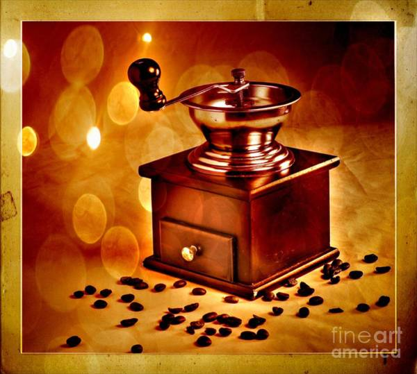 Wall Art - Photograph - Coffee Grinder 3 by Donald Davis